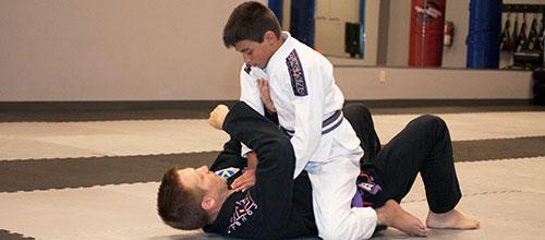 Jiu-Jitsu with kids